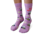 Novelty Womens Bee Socks
