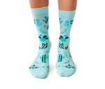 Plant and Cactus Novelty Socks for Women