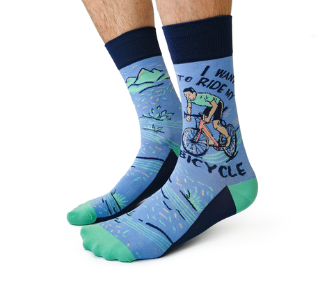 Mens Cycling Bike Socks