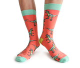 Dinosaur T-Rex Womens Fun Socks