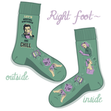 Social Distance  Covid-19 socks