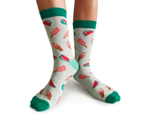 Womens Fun Ice Cream Socks