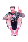 MENS-CREW-NOVELTY-GAMER-SOCKS