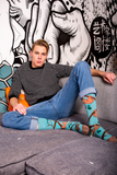 Mens Sloth Socks