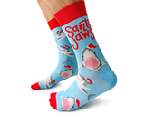 Jaws Shark Mens Novelty Christmas Socks