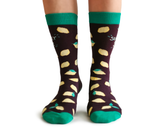 Womens Fun Lemon Socks