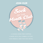 SOCK OF THE MONTH CLUB - 1 PAIR - 3 MONTHS