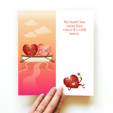 Fun Valentine's Day Greeting Card