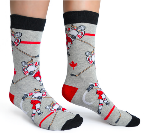 WOMENS-CREW NOVELTY-HOCKEY-SOCKS