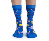 WOMENS-CREW NOVELTY-OCTOPUS-SOCKS
