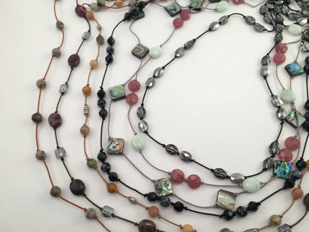 Dream Knotted Necklaces