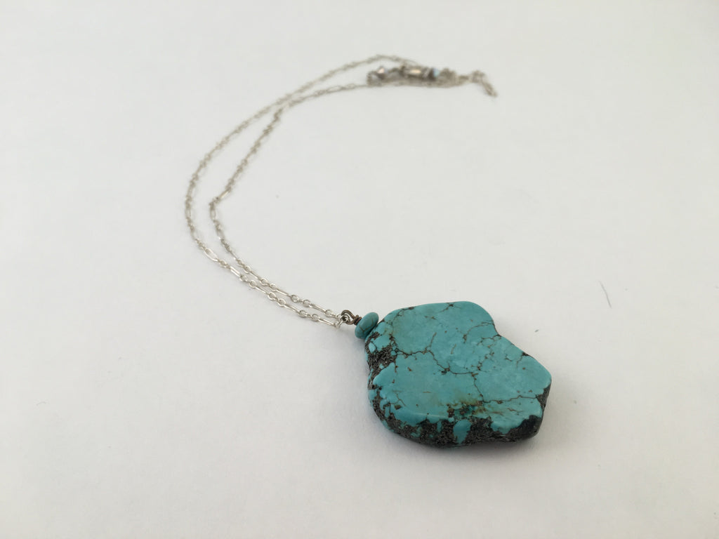 Warrior Turquoise Necklace