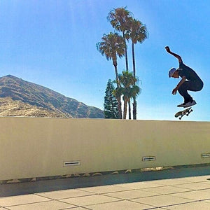 Skateboarding Tricks in Newbury Park, Cali with Jim Bates - Part II