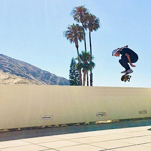 Skateboarding Tricks in Newbury Park, Cali with Jim Bates - Part I