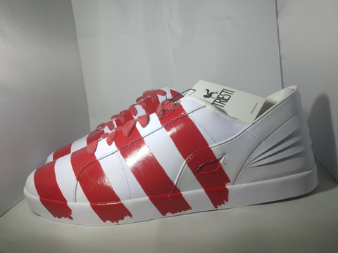 Triesti Candy Cane Sneakers