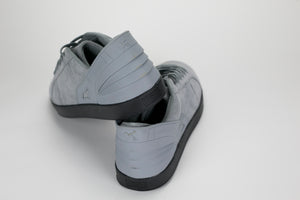 Triesti Shell Shoes - Grey Suede