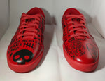 Triesti shoes: Red Graffiti