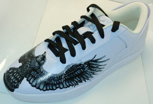 Triesti shoes: Crows