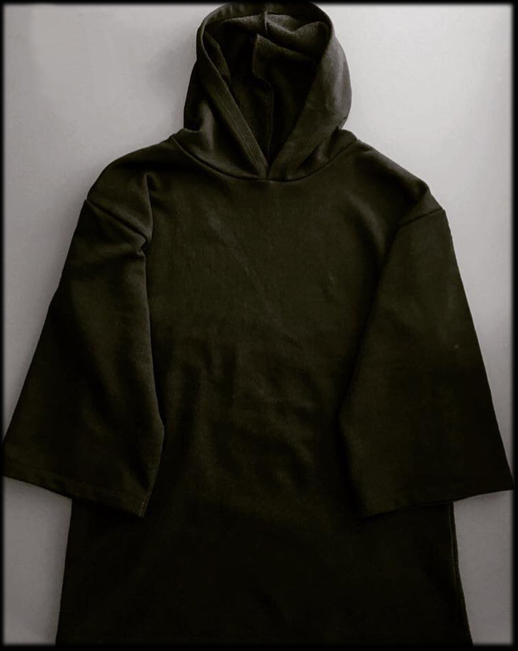Women's Hoodie Black - Made in Italy