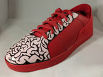 Triesti shoes: Red Brain