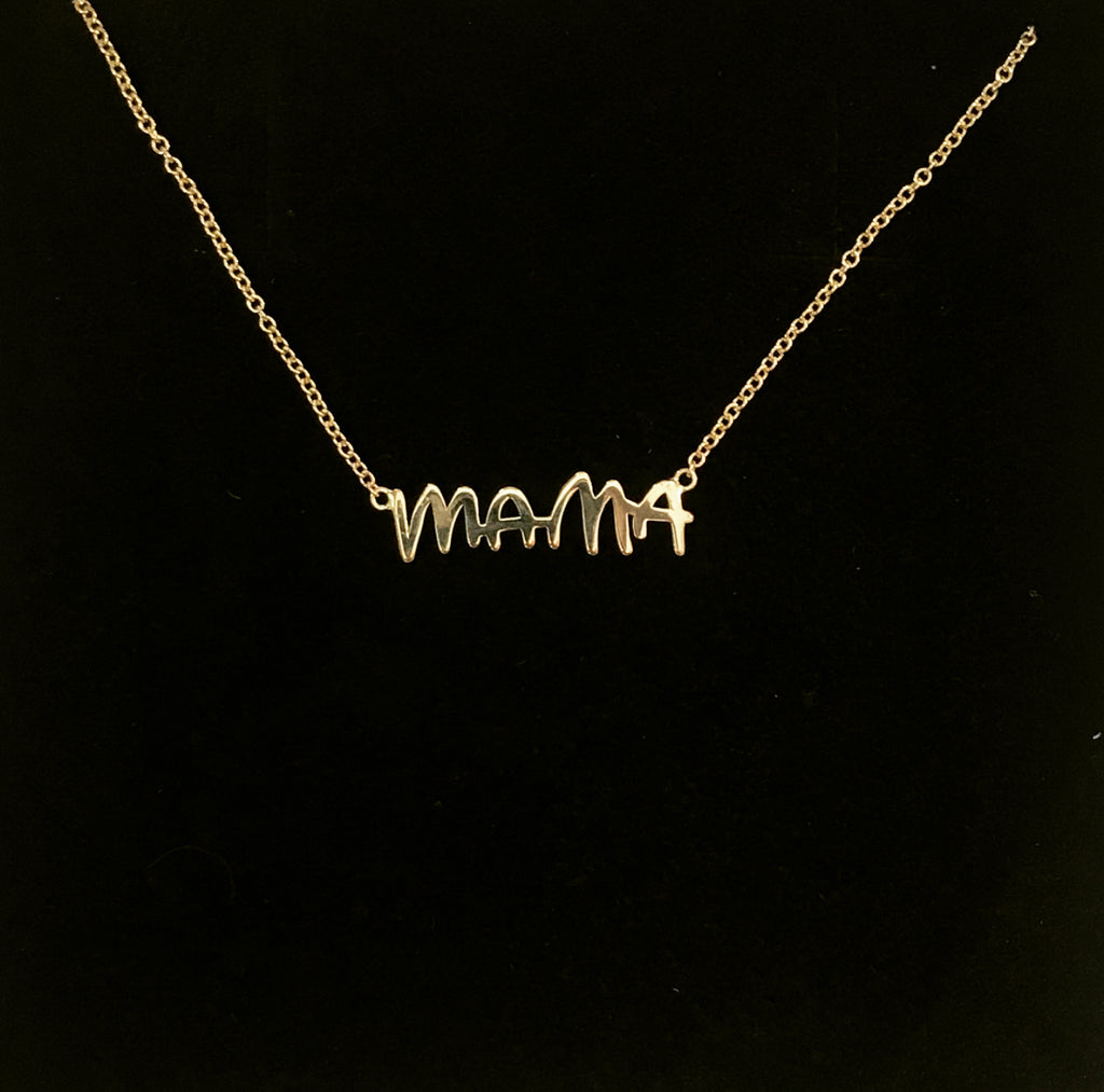 "Sincerely x Mama and Tata ""MAMA"" Necklace"