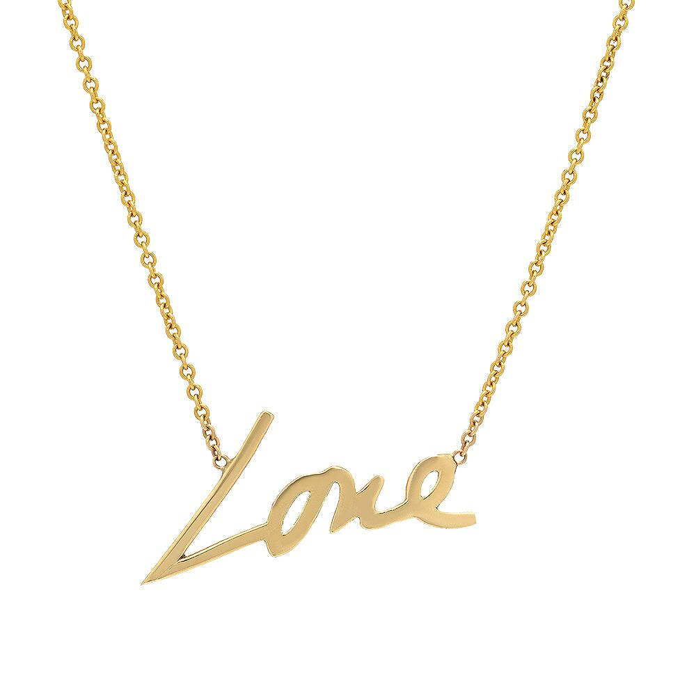 Stevie Love Necklace Without Diamonds_