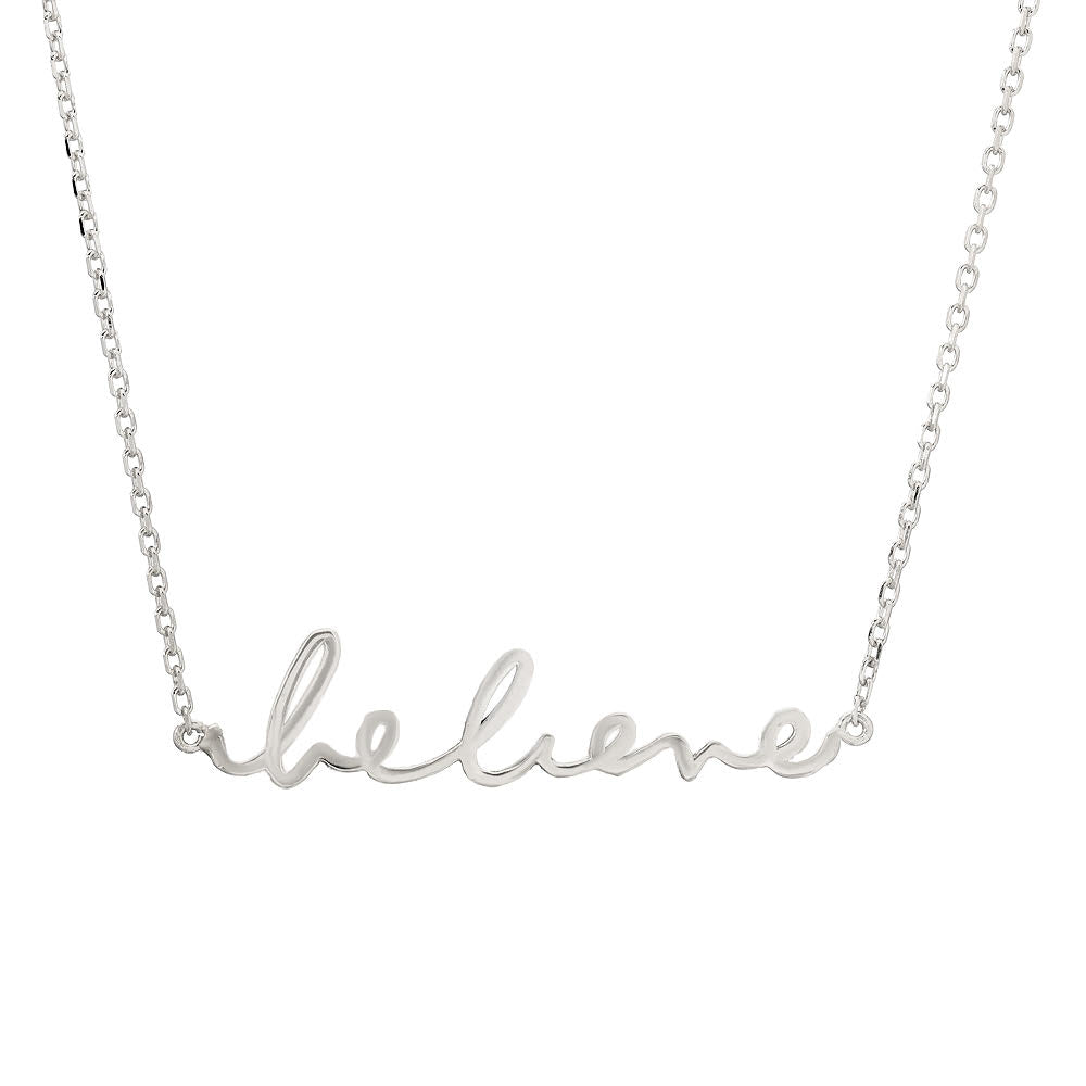 "SINCERELY x Winterstone ""Believe"" Necklace_"