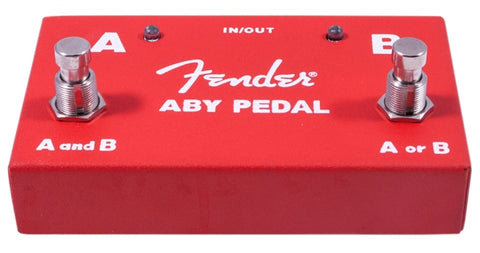 Fender ABY Footswitch 2 Switch Pedal