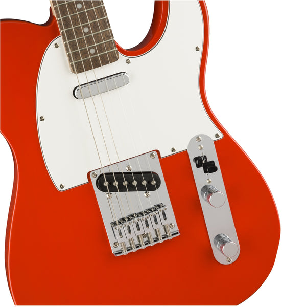 Squier Affinity Telecaster in Race Red