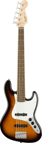 Squier Affinity Series Jass Bass V 5-String Brown Sunburst