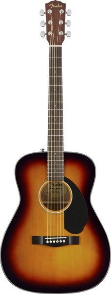 Fender CC-60S Concert  Acoustic Guitar in 3-Color Sunburst