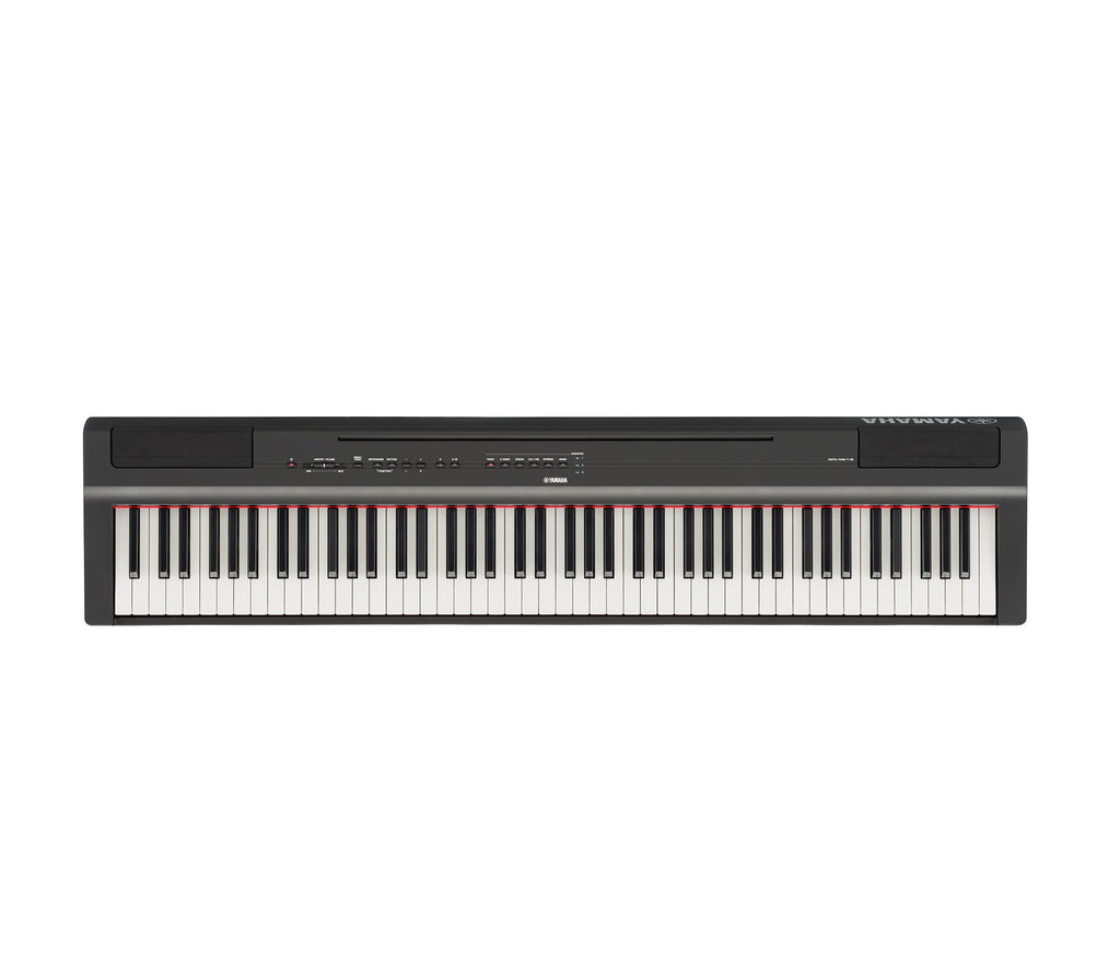 Yamaha P-125B Black 88-Key Weighted Action Digital Piano
