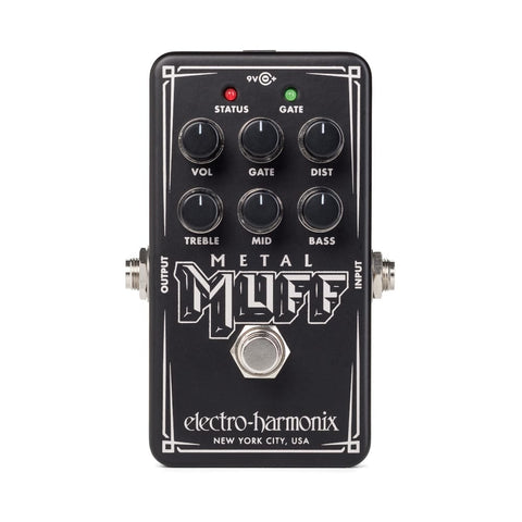Electro-Harmonix Nano Metal Muff Distortion Effects Pedal Black