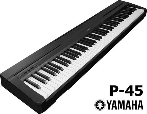 Yamaha P-45 88-Key Weighted Digital Piano