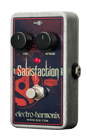 Electro Harmonix Satisfaction Fuzz Pedal