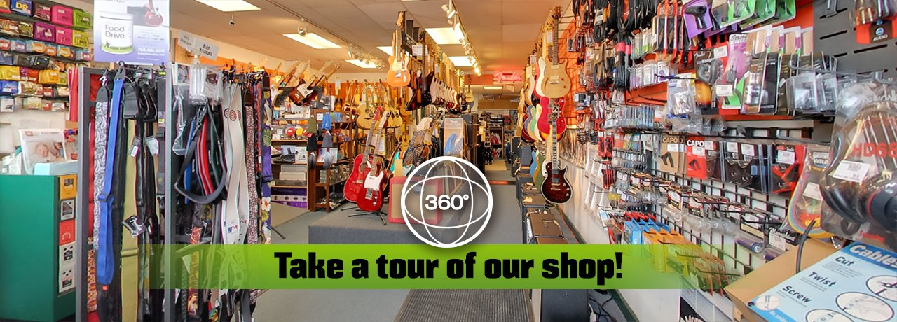 Check out our 360˚ tours at the shop!