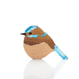 Frankie the Superb Fairy Wren (set of 3)
