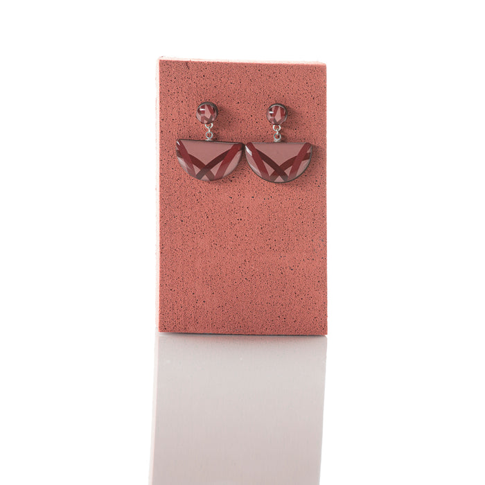 Sway - Arc and stud earrings