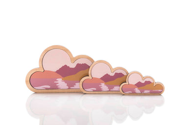 Cradle Cloud Art: set of 3.
