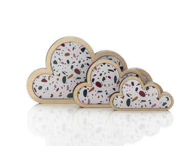 'Tezza' Cloud Art: set of 3.