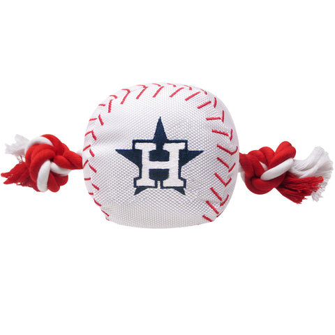 Houston Astros Nylon Baseball Rope Pet Toy