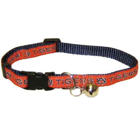 Auburn Tigers Cat Collar