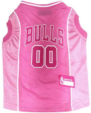 Chicago Bulls Pink Dog Jersey