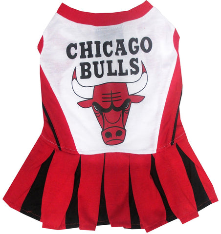 Chicago Bulls Dog Cheerleading Uniform