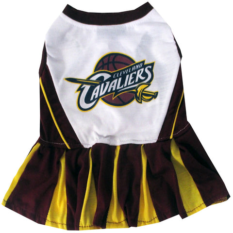 Cleveland Cavaliers Dog Cheerleading Uniform