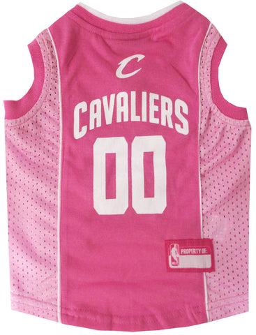 Cleveland Cavaliers Pink Dog Jersey