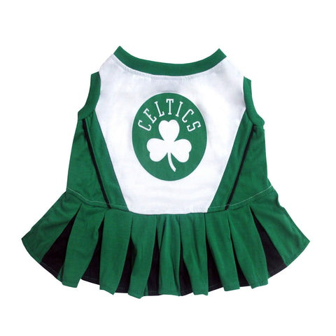 Boston Celtics Dog Cheer Leading