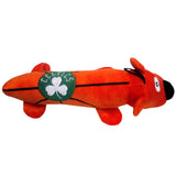 Boston Celtics Plush Squeaky Dog Tube Toy