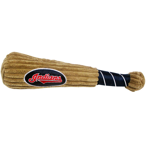 Cleveland Indians Baseball Bat Pet Toy