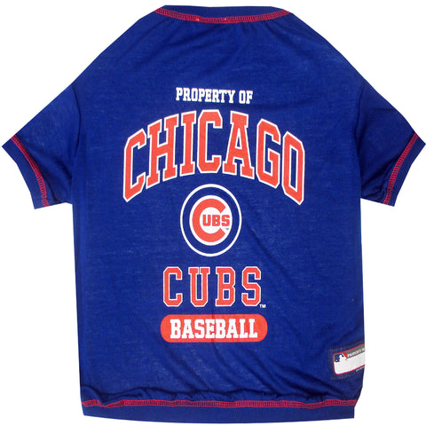 Chicago Cubs Baseball Pet T-Shirt